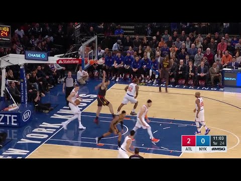 1st Quarter, One Box Video: New York Knicks vs. Atlanta Hawks
