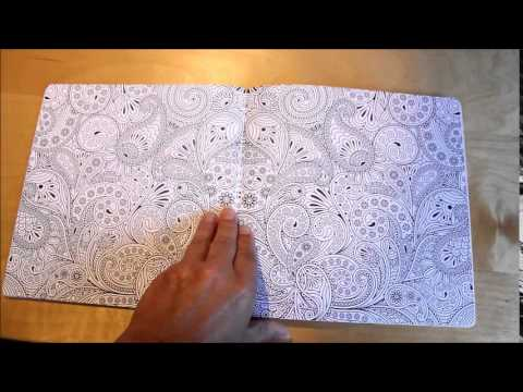 Coloriage Anti Stress 60 Mandalas Livre Art Therapie Youtube