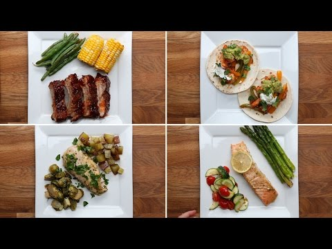 4 Simple One-Pan Dinners