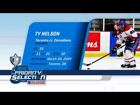 2020 OHL Priority Selection Prospect Feature: Ty Nelson - 1st Overall Pick By North Bay Battalion
