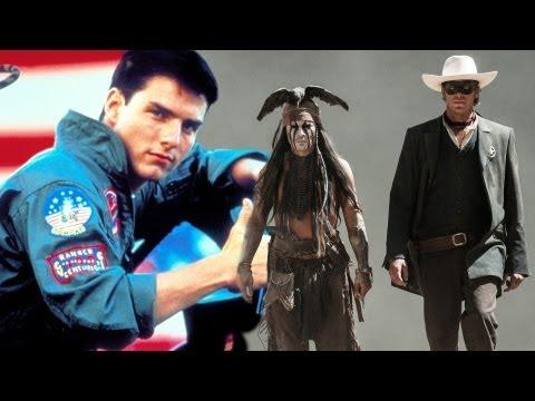 Jerry Bruckheimer talks 'Top Gun 2' & 'Lone Ranger' Sequels