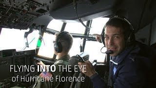 Flying Into Hurricane Florence's Eye