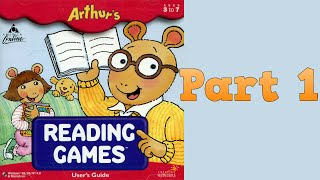 Whoa, I Remember: Arthur's Reading Games: Part 1
