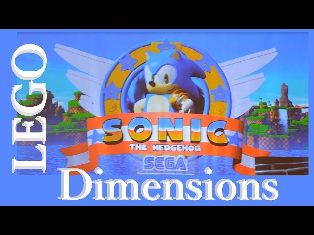 LEGO Dimensions Wave 7 Sonic the Hedgehog