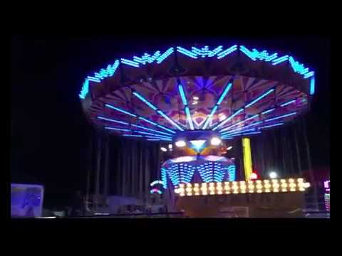 Sideshow alley walk through Perth Royal Show 26.09.2015