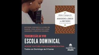 AO VIVO Escola Dominical 16/05/2021 #live