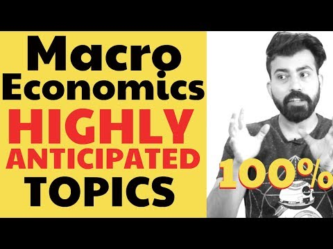 MACRO ECONOMICS MOST IMPORTANT TOPICS #boards2k19 #commercebaba