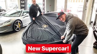 DELIVERY OF MY FIRST LAMBORGHINI EVER! *EMOTIONAL*