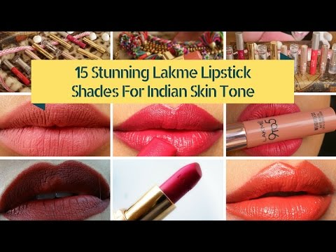 15 Best Of Lakme Lipsticks For Indian Skin Lakme Lipstick Shades