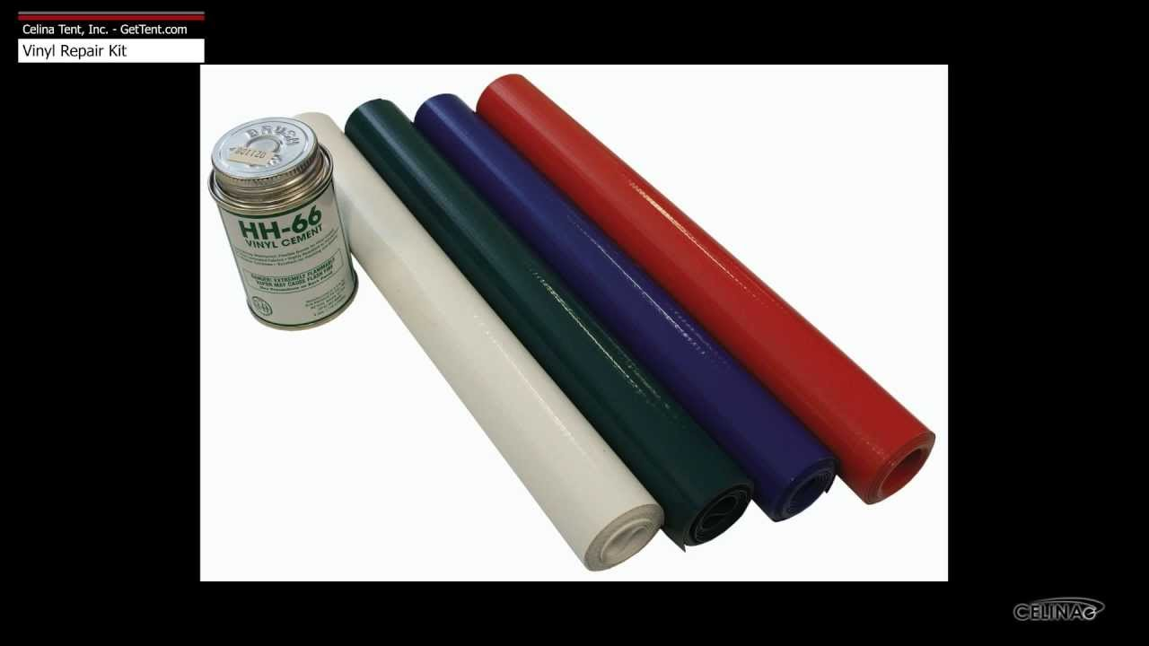 Vinyl Repair Kit For Tents Tarps Awnings Boat Covers Etc