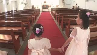 Publication Date: 2018-05-28   Video Title: 慢慢的走進了教堂~ 已經準備好要結緍了嗎? 親子樂園玩具開箱