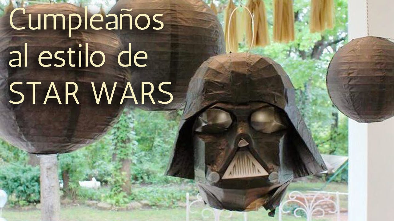 40 ideas cumplea os al estilo star wars hd youtube - Ideas para fiestas de 40 cumpleanos ...