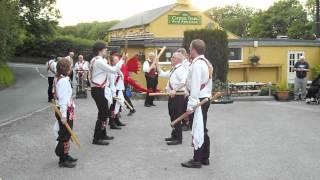 Cardiff Morris dance Bonny Kate at