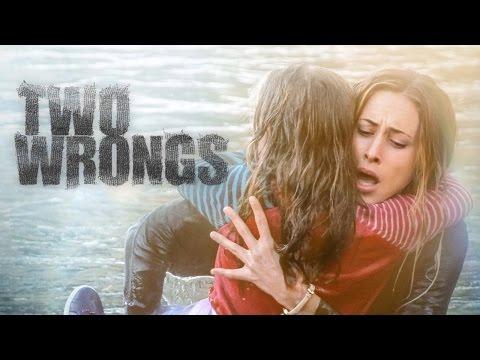 TWO WRONGS   starring Gillian Zinser