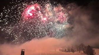 Neujahrsfeuerwerk Kitzbühel 2018 [4K]