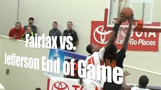Fairfax vs. Jefferson, End of Game, 12/27/14