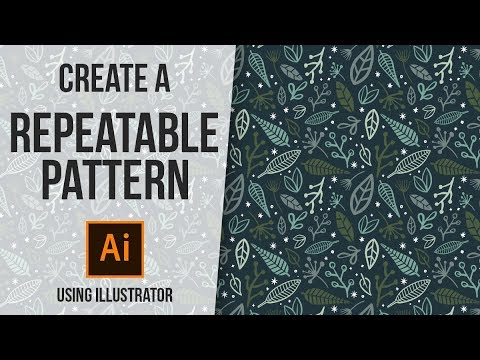 How To Create a Repeatable Pattern Design | Using Adobe Illustrator thumbnail