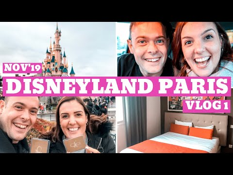 DISNEYLAND PARIS NOV'19 VLOG 1 | Eurotunnel, Room Tour & Becoming Annual Pass Holders! AD-Gifted