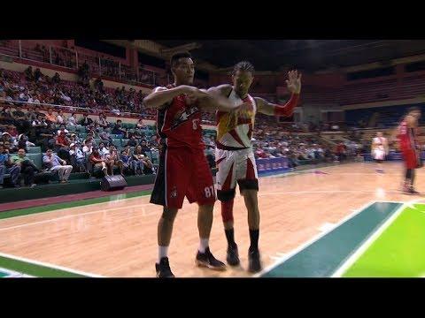 Vic Manuel - Chris Ross SCUFFLE (VIDEO)