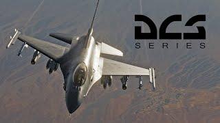 Стрим - Встречаем F-16 Fighting Falcon (Viper) в DCS World (18+ мат и брань)