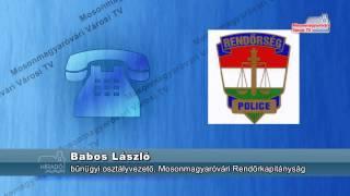 Rendőrségi hírek