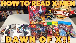 How To Read and Collect X-men: Dawn of X!