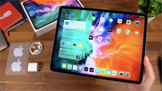 Apple iPad Pro 2020 Unboxing! My First iPad!
