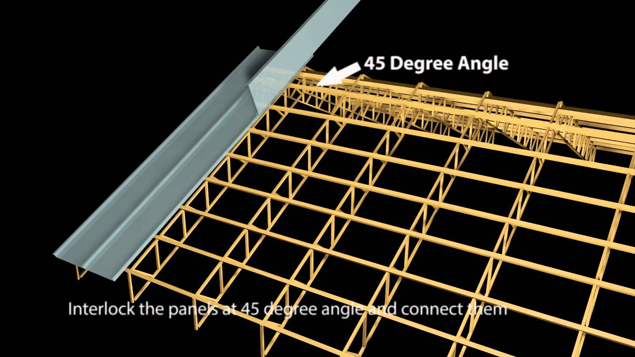 How To Install Longspan Roofs Youtube