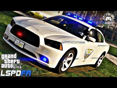 GTA 5 MODS LSPDFR #43-  Ohio State Highway Patrol (GTA 5 POLICE MOD)