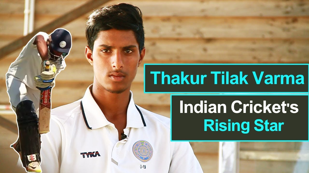 Image result for do you know about new u-19 guy takhur tilak varma