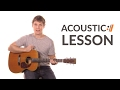 Look to the Son - Hillsong Worship // Acoustic Tutorial