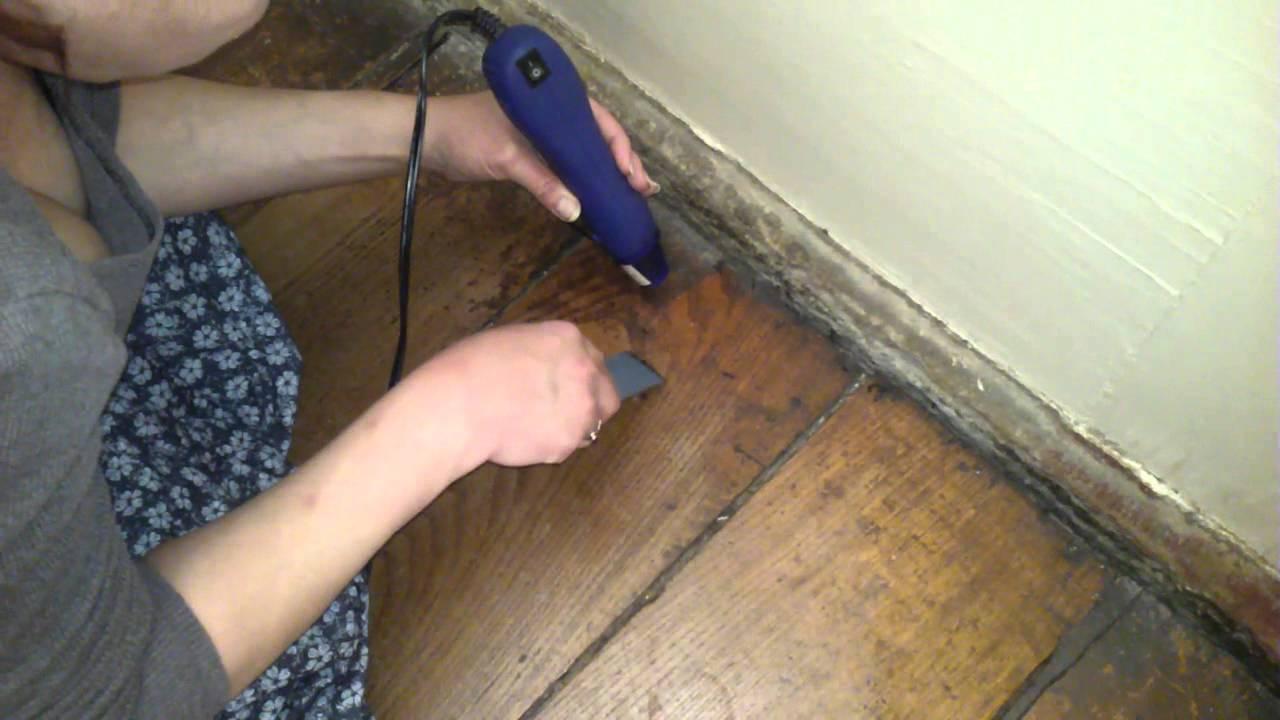 Wax build up on wood floors - Wax Build Up On Wood Floors - YouTube