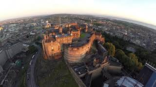 Edinburgh Castle in Stunning Light
