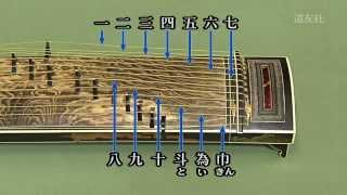 楽器の紹介その六「箏」