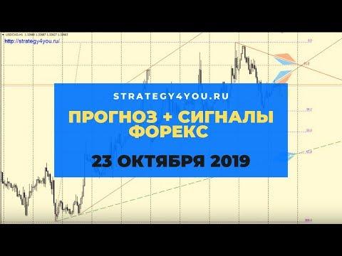 Прогноз EURUSD (+9 пар) на 23 ОКТЯБРЯ 2019 + сигналы, обзоры, аналитика форекс