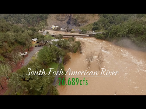 South Fork American River: 26,689cfs