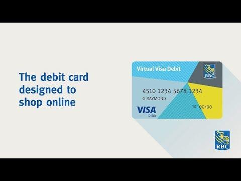 RBC Virtual Visa Debit: The debit card designed to shop online.
