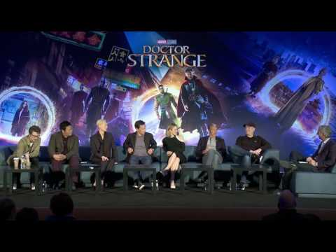 Doctor Strange:  Full Los Angeles Press Conference - Benedict Cumberbatch