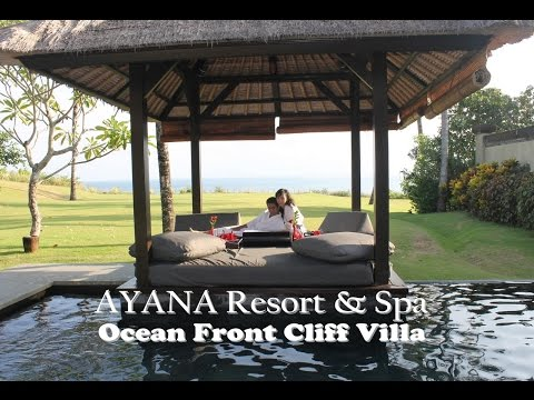 Honeymoon in Bali - Day 1 - AYANA Resort & Spa (Ocean Front Cliff Villa #3002) June 13, 2014