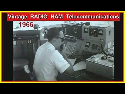 Rare vintage Telecommunications Radio, Ham, Teletype, Telex, Telephone, Computer, Electronics, 1966