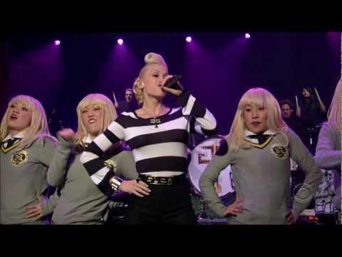 Gwen Stefani  Wind It Up Letterman, 2006