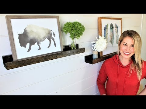The Picture Shelf Set - Easy DIY Project