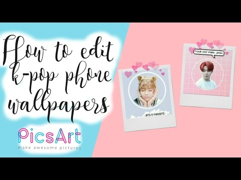 // HOW TO EDIT K-POP PHONE WALLPAPERS