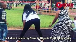 Yoruba Actress Mercy Aigbe & Kemi Afolabi Seriously Twerking At Her son's Birthday Party