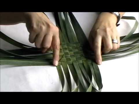 How to make a simple NZ Flax (Phormium Tenax) purse