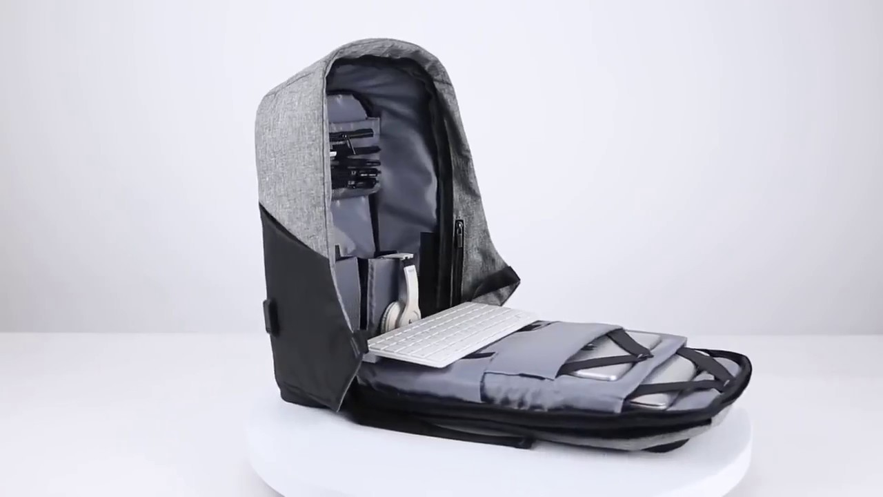 df4d13c785 Smart Backpack Anti Theft - Premium Fashion Wear ID - YouTube