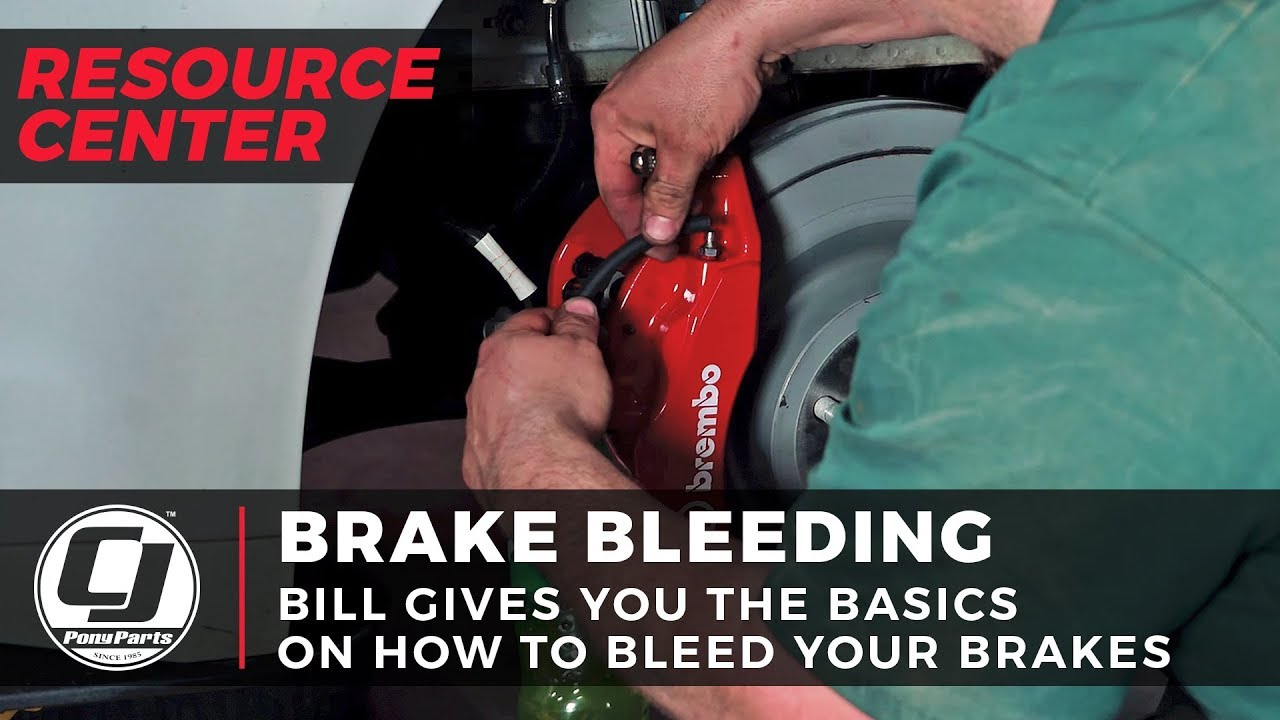 Mustang Brake Bleeding Tutorial | How to Bleed Brakes | CJ