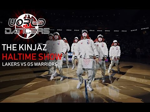 KINJAZ - ALIVE | Halftime Show | Lakers vs GS Warriors