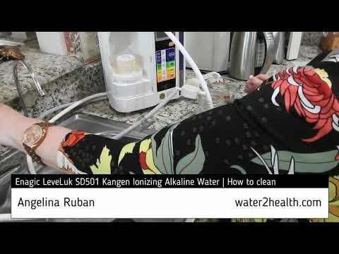 Kangen water cleaning (English)