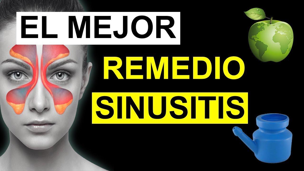 Remedio de agua oxigenada para la sinusitis